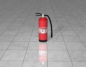 3D model Fire Extinguisher Cylinder