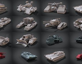 Collection of 3D Tank models