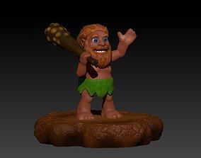 3D printable model Akool The Cave Man