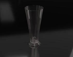 3D model glass liquor