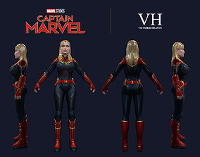 Captain Marvel - Victorie 3D model