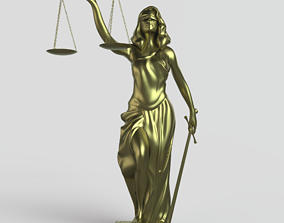 3D print model Themis