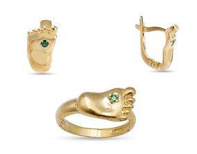 3D printable model Foot earring jewellery