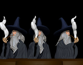 Bust of Gandalf the Grey 3D printable model