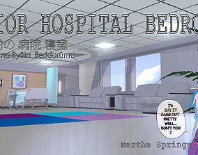 PRIOR Hospital Bedroom 3D