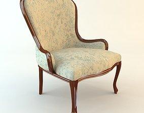 3D model Classical Antique Armchair