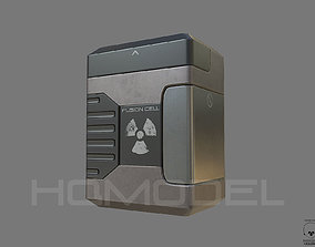 Fusion Cell PBR Sci-Fi 3D model