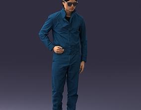 SciFi man 0831 3D print ready