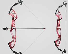 3D asset Compound Target Bow