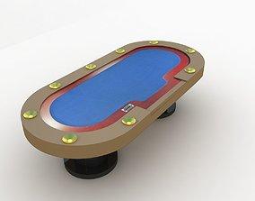 Poker Table 3D sports