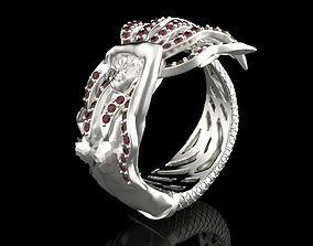 Mermaid ring mermaid 3D print model