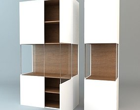 3D model Contemporary Display and Storage Unit 2