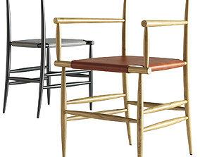 miniforms PELLEOSSA Chair 3D model