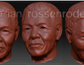Nelson Mandela 3D print