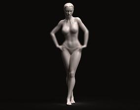 beauty 3D printable model Sexy girl set1 09