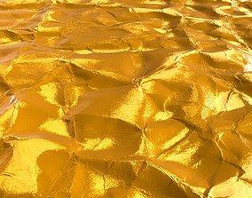 3D model Gold Wrapper Texture