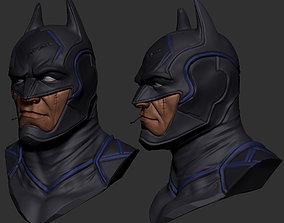 Stylize Batman Head - Speed Sculpt sculpt 3D model