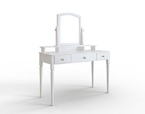 3D model TYSSEDAL Table mirror white