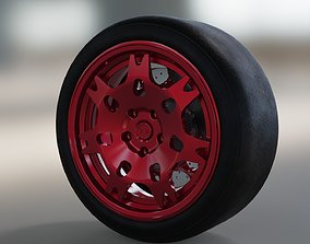 rims und wheel tire part 3D