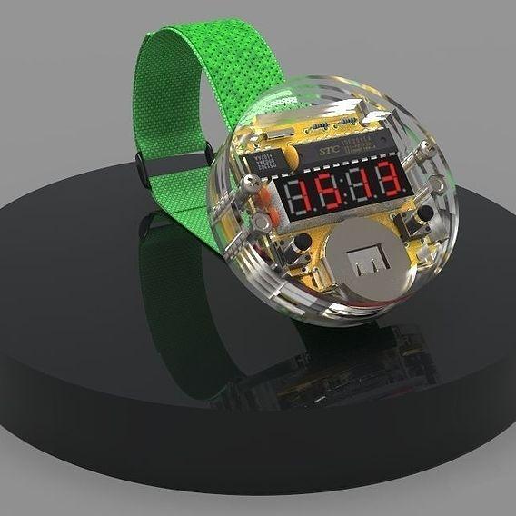 Led Wristwatch