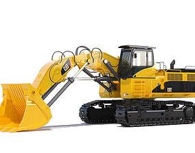 Front Shovel 385C FS 3D model