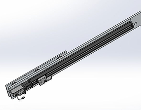 3D Ultra long stroke slide rail module-fine tuning