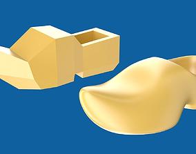 3D asset Clog or wooden shoe