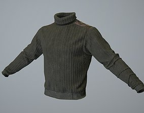 Sweater 3D model low-poly