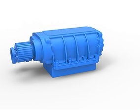 3D print model Diecast Supercharger Scale 1 to 25