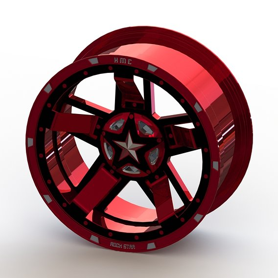Cast rim XD-XD827 R3 - size 20x9 - Captain Hydra edition