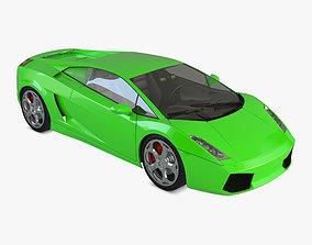 Lamborghini Gallardo race 3D model