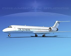 Boeing 717-200 Olympia 3D model