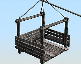 3D asset Rope way