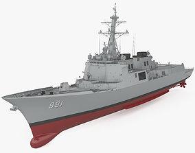 Sejong the Great-class destroyer 3D model