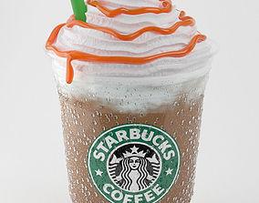 3D Frappuccino Caramel
