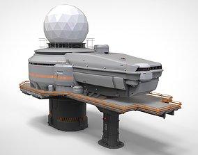 Antenna post 4 3D model