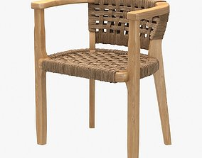 3D roman and williams guild new york seamoor chair