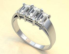 3D sliver ring for tha man or women