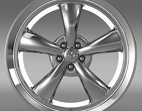 Mopar Dodge Challenger rim 3D