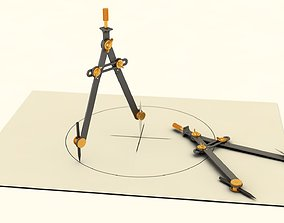 3D Drawing Compass draw