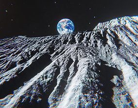Moon Environment Pack - Unity 2017 Package 3D model