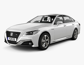 3D Toyota Crown RS Advance 2018