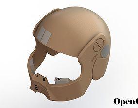 Star Wars Resistance Trooper Helmet 3D print model