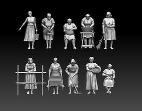 women 3D printable model