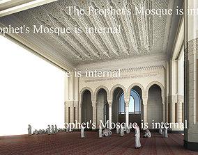 3D The Prophets Mosque internal