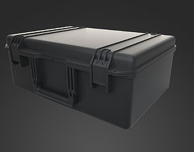 low-poly Plastick Box Hi and Low Poly Model