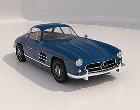 Mercedes 300SL Gullwing 3D