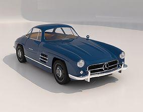 Mercedes 300SL Gullwing 3D model
