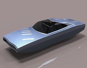 concept Flying Dodge Charger 3D model