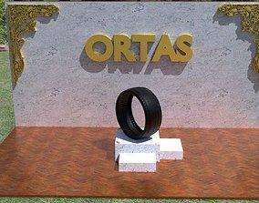 3D model ORTAS TIRE NO 32 GAME READY